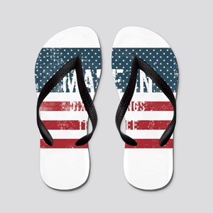 Made in Dixon Springs, Tennessee Flip Flops