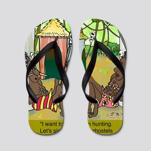 7839_elderhostel_cartoon Flip Flops