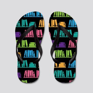 Book Lover Librarian Reader Flip Flops