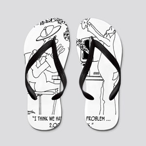 Bee Cartoon 6890 Flip Flops