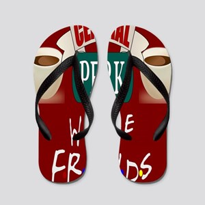 Central Perk and Friends Flip Flops