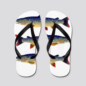 Dolly Varden Trout Flip Flops