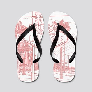 LasVegas_6.9x9.10_iPad2 Case_Red Flip Flops