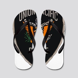 Union Pacific Police patch Flip Flops