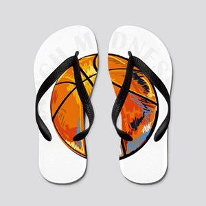 march madness Flip Flops