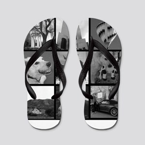 Your Photos Here - Photo Block Flip Flops