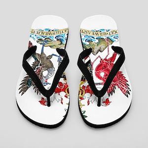 b07c49b3e98 Trinidad And Tobago Flip Flops - CafePress