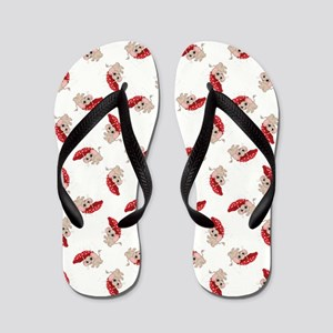 RAINY DAY ELEPHANT Flip Flops