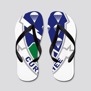 Army-506th-Infantry-Currahee Flip Flops