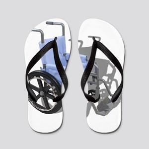 WheelchairBlueSeat073110 Flip Flops