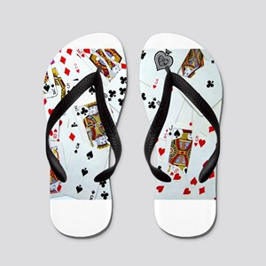 Playing Cards Flip Flops