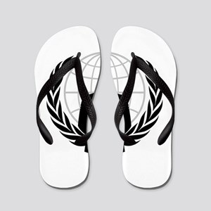 Anonymous Seal Flip Flops
