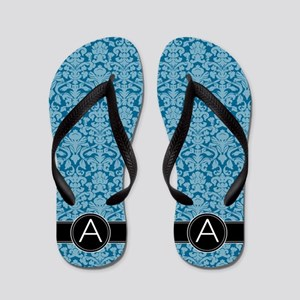 67ce0e32c37d Monogram Patterns Letter A Flip Flops