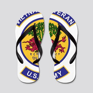 Army-Vietnam-Veteran-506th-Infantry-Col Flip Flops