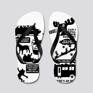 Christmas Vacation Quotes Flip Flops