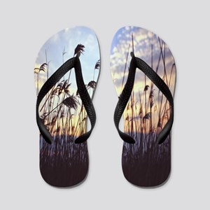 Blowing Willows Flip Flops