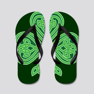 Celtic Shamrock - St Patricks Day Flip Flops