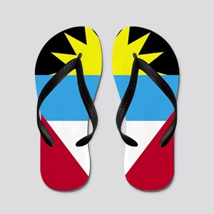 Flag of Antigua and Barbuda Flip Flops