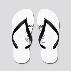 OYOOS Bow Wow Music design Flip Flops