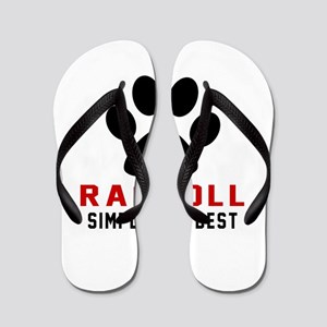Ragdoll Simply The Best Cat Designs Flip Flops
