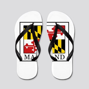 b09ded39be2 Hagerstown Maryland Baltimore Salisbury Bowie Flip Flops - CafePress