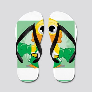 Knock-Out-Cerebral-Palsy-blk Flip Flops