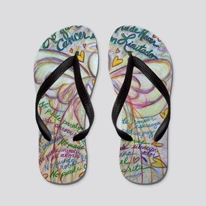 Spanish What Cancer Cannot Do Angel Flip Flops