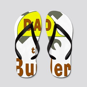 Dad the Builder Flip Flops
