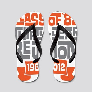 Kewanee High School - 30th Class Reunio Flip Flops