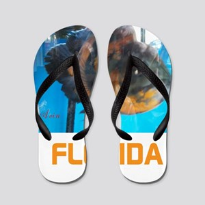 FLORIDA AVINS FISH. Flip Flops