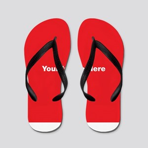 Your Image Here Flip Flops