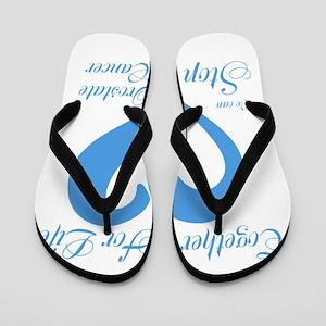 Stop Prostate Cancer Flip Flops