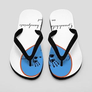 Personalized handprints Flip Flops