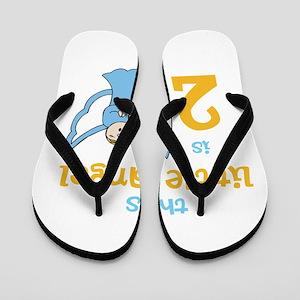 little angel custom age Flip Flops