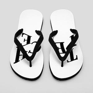 Teach Peace Flip Flops