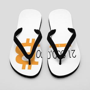 Bitcoin 21 Million Club Classic Flip Flops