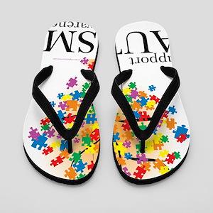 Autism-Tree Flip Flops