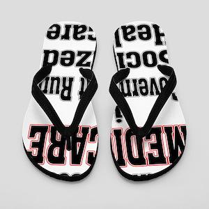 medicare_card poster Flip Flops