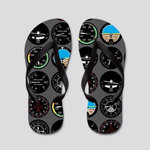 Flight Instruments Flip Flops