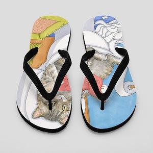 Cat 535 Flip Flops