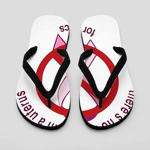 Pro_choice-rndUTEmgnta Flip Flops