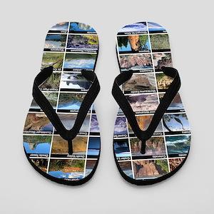 National Park & Monument Flip Flops