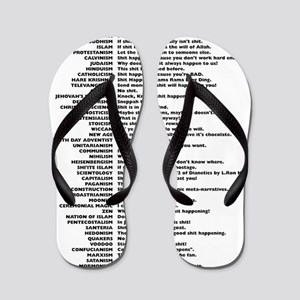 A Short Course in Comparative Religion Flip Flops