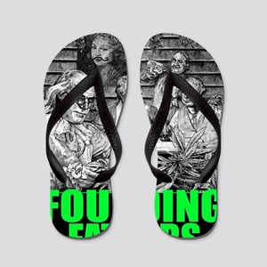 Founding Fathers (version 4) Flip Flops