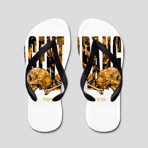 Agent Orange Vietnam Flip Flops