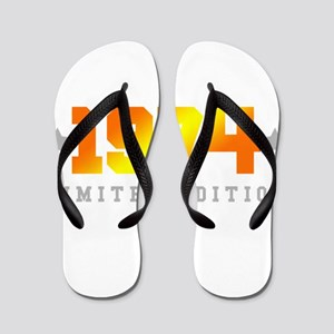 Limited Edition 1974 Birthday Flip Flops