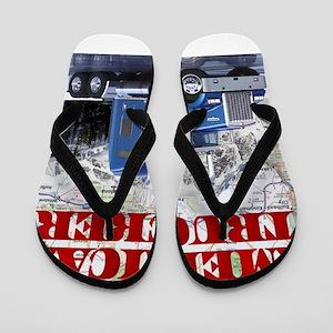 American Trucker Flip Flops