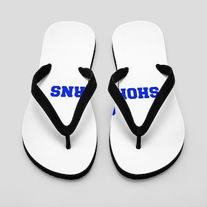 Shorthorns-Fre blue Flip Flops
