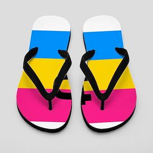 PANSEXUAL Flip Flops