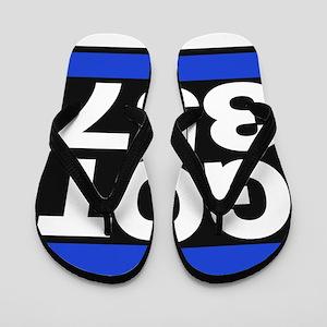 got 357 blue Flip Flops